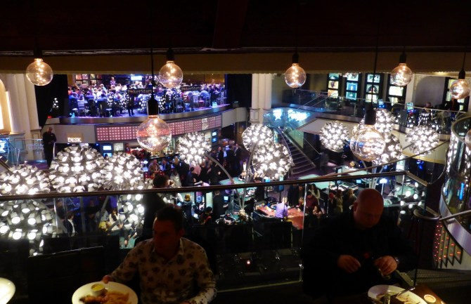 London Hippodrome Heliot restaurant review