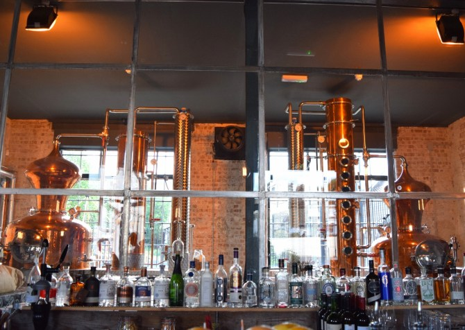 East London Liquor Tour distillery bar review