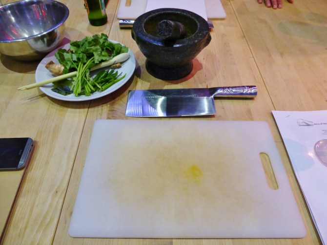 School of Wok Thai cooking class