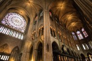 Nave of the Notre Dame, Paris