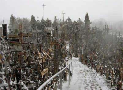 Hill-of-Crosses-Lithuania-
