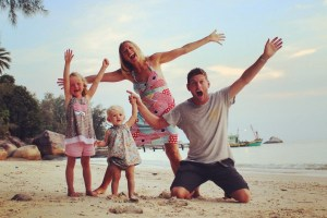 Perhentian Islands family selfie