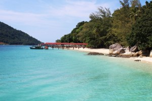Perhentian Islands blue clear water