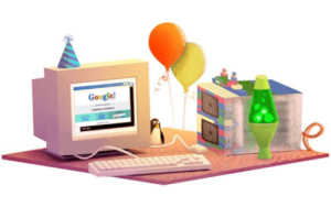 birth of google