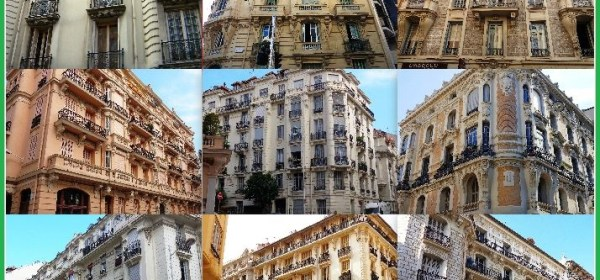 Collage bourgeois buildings