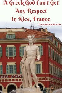 A Greek God Can't Get Any Respect in Nice, France
