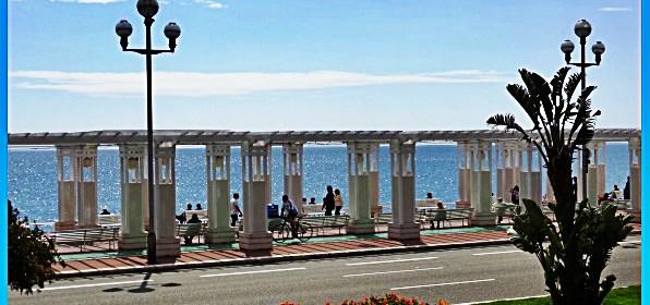 Promenade des Anglais, English Promenade, Nice France