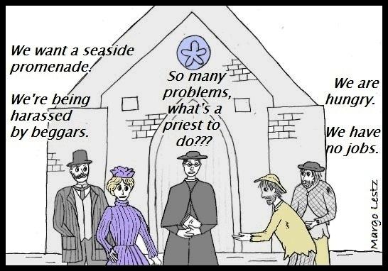 Promenade des Anglais priest