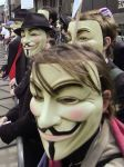 Guy Fawkes Anonymous mask