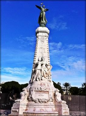 monument centenaire, centennial, nice france
