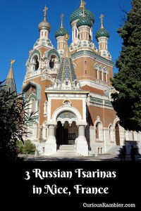 3 Russian Tsarinas in Nice, France