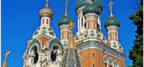 Cathedral, Church, Nice, France, Empress, Tsarina Maria