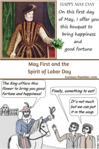 May 1 and spirit of labor day