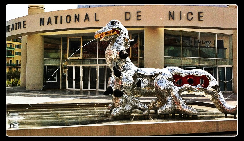 national theatre nice france sculpture
