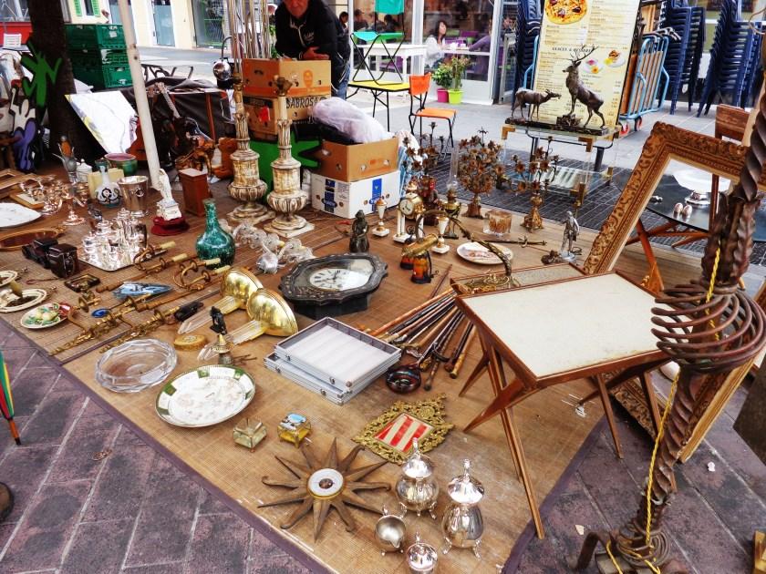 Cours Saleya antique market, Nice France