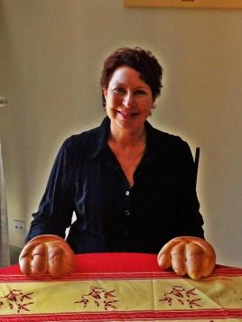 Margo bread hands