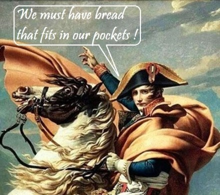 napoleon and the baguette