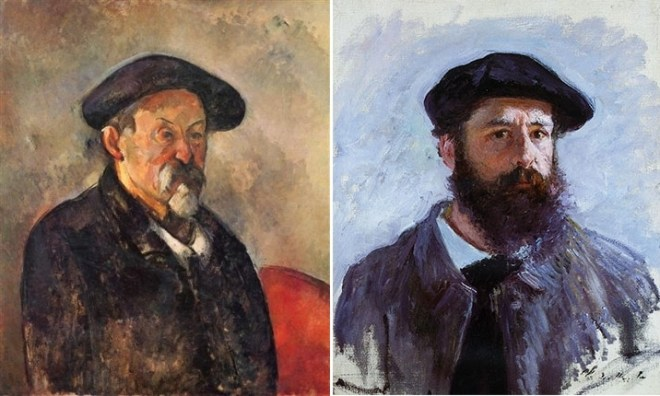 Cezanne and Monet