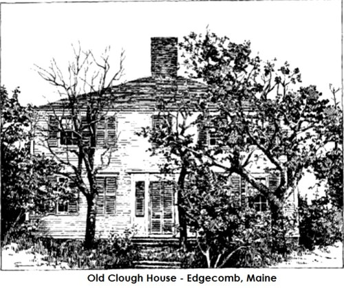 Clough house, Marie Antoinette house, Wiscasset Maine