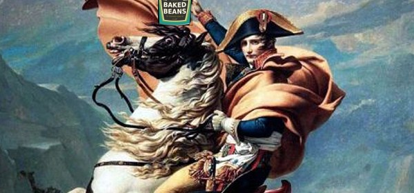 Napoleon Bonaparte and canned food