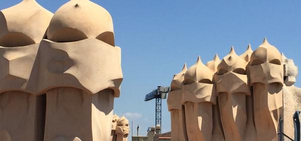 Gaudi chimneys