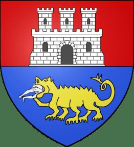 Tarascan coat of arms with Tarasque