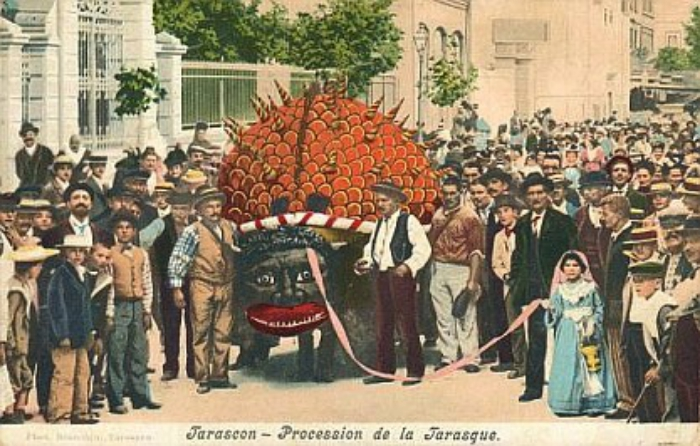 Saint Martha and Tarasque festival in Tarascon