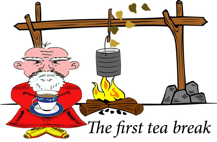 First tea break
