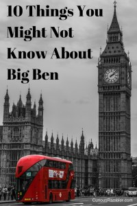 10 Things You Might Not Know About Big Ben