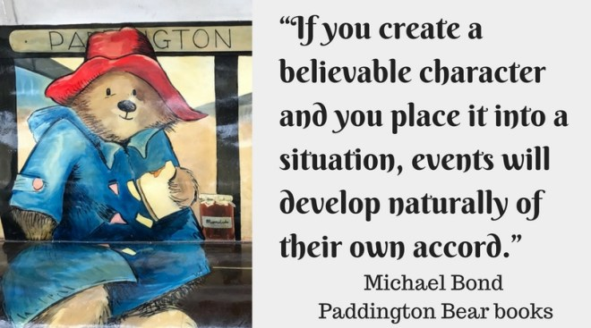 """""""If you create a believable character and you place it into a situation, events will develop naturally of their own accord."""""""