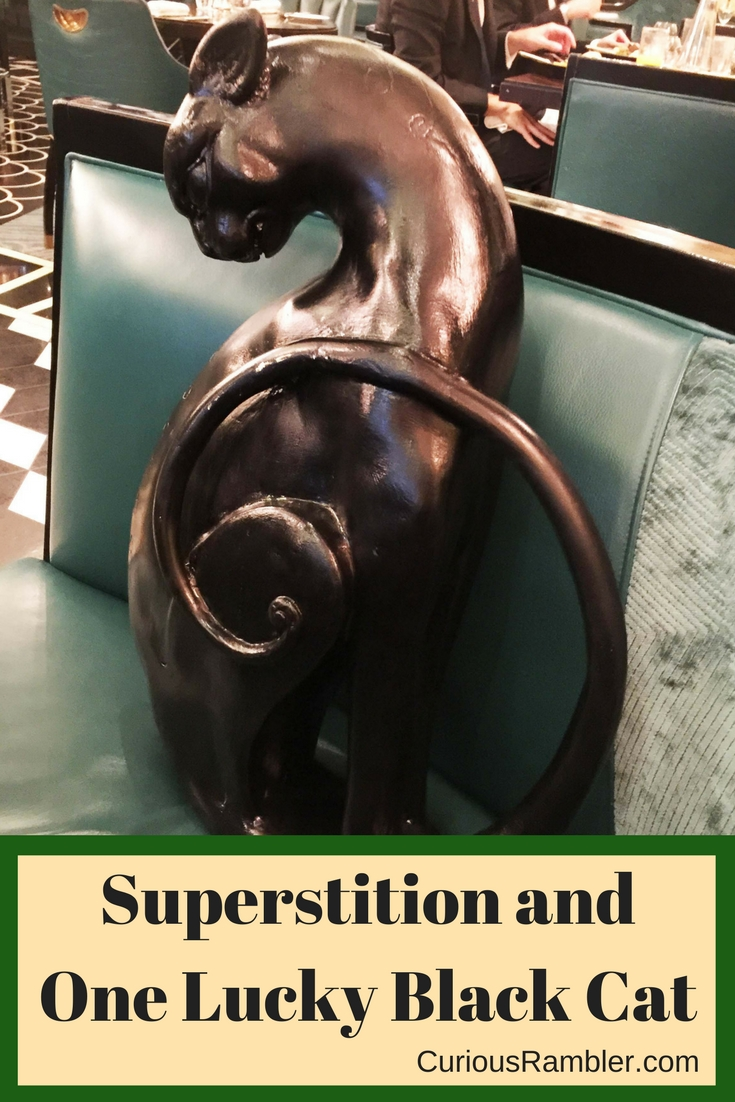 Superstition and One Lucky Black Cat