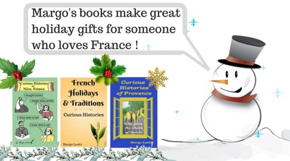 Margo's books make great holiday gifts for someone who loves France