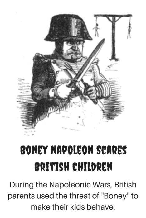 Boney Napoleon Scares British Children-2