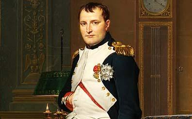 Napoleon w hand in coat