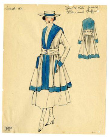 Chanel sailor suit
