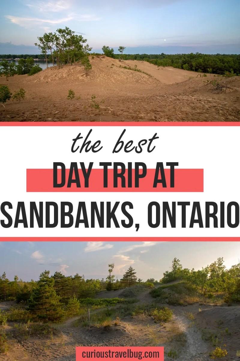 Day Trip to Sandbanks Provincial Park, Ontario