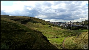 Edinburgh Scotland Arthur's Seat City View