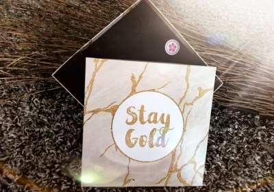 Pink Box Stay Gold Oktober 2016