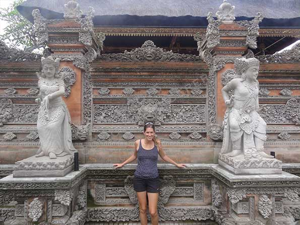 Typical Balinese architecture