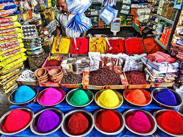 Mysore market, India
