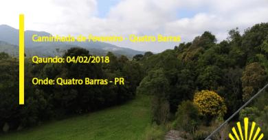 Caminhada de Fevereiro – Quatro Barras