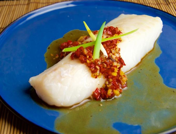 Recept Kabeljauw met tamarindesaus