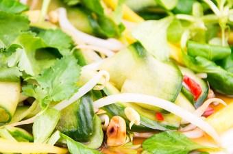 Recept Thaise salade met mango