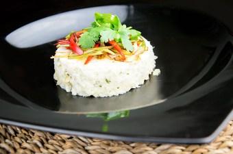Recept krabmousse met witvis