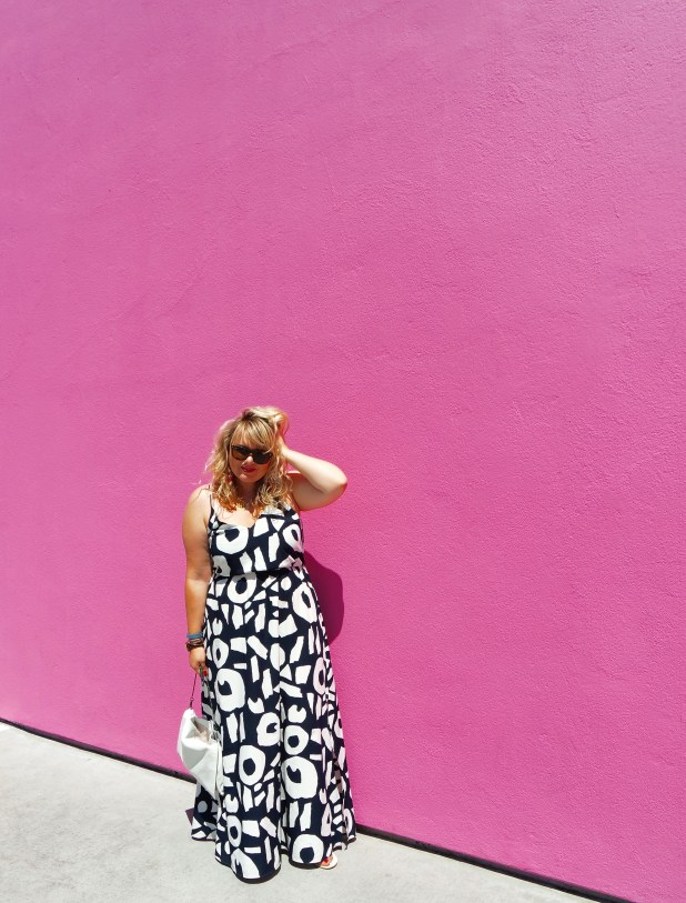 Curls and Contours Blogger Wall