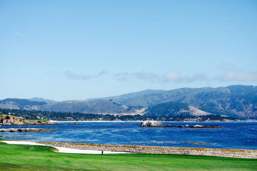 Pebble Beach and Curls and Contours