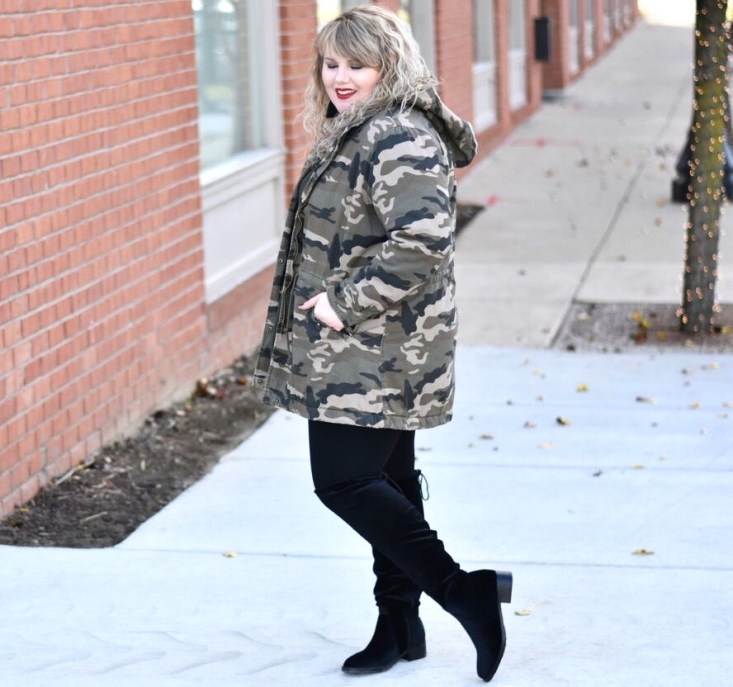 In today's post I am sharing how to create a complete look in colder climates with Avenue outerwear, that coordinates with what you have on!