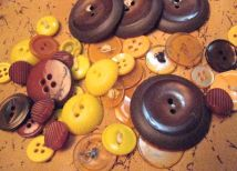 yellow&brown buttons