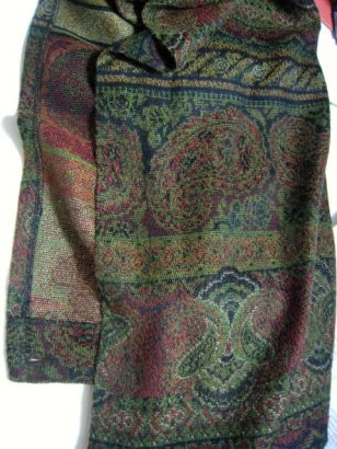 opened wrap skirt shows hem