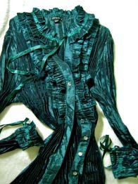 fancy taffeta blouse that needed . . .